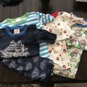 Hanna Anderson pajamas size 130